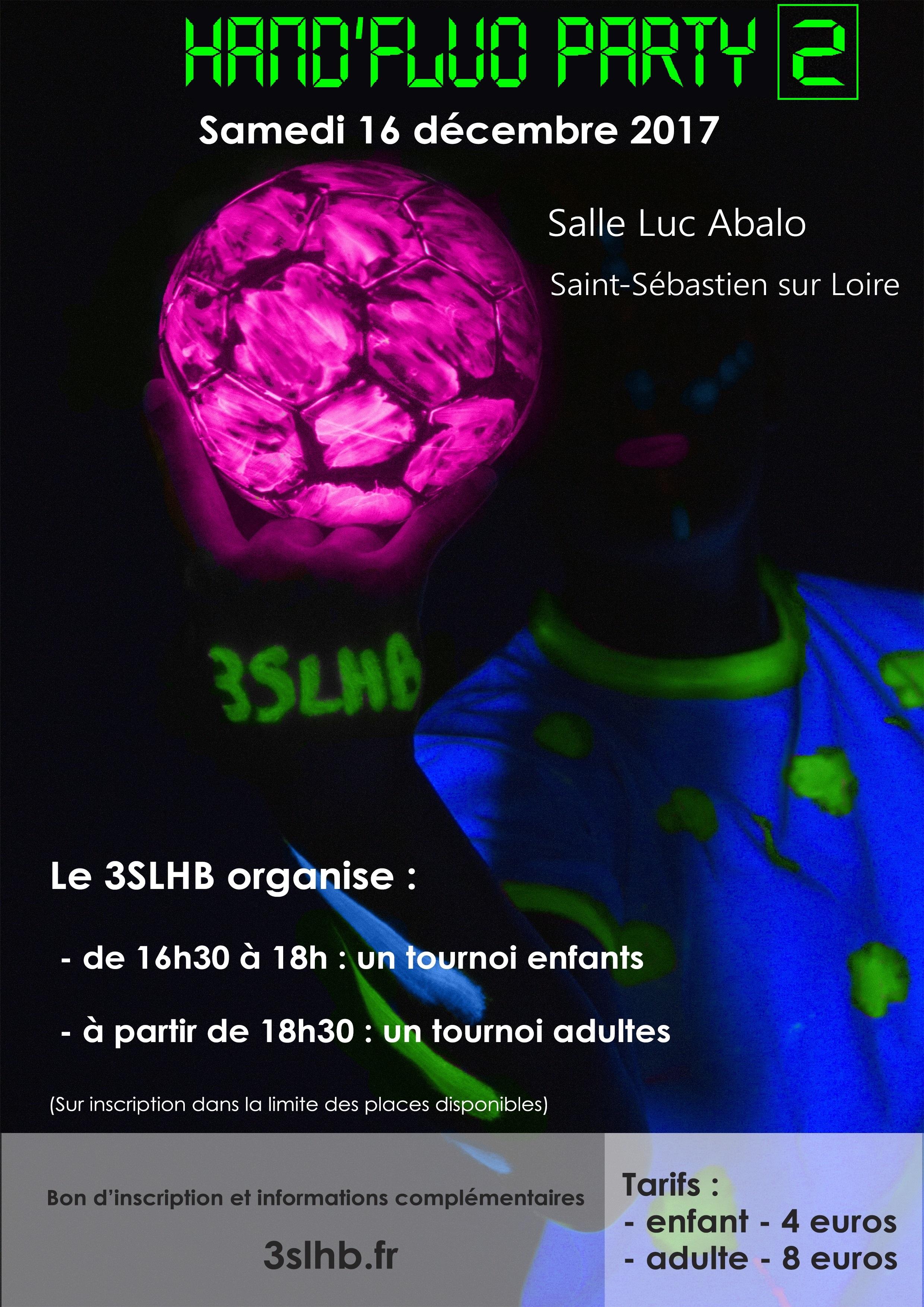 Hand Fluo Party 2 3slhb Le Hand Ensemble