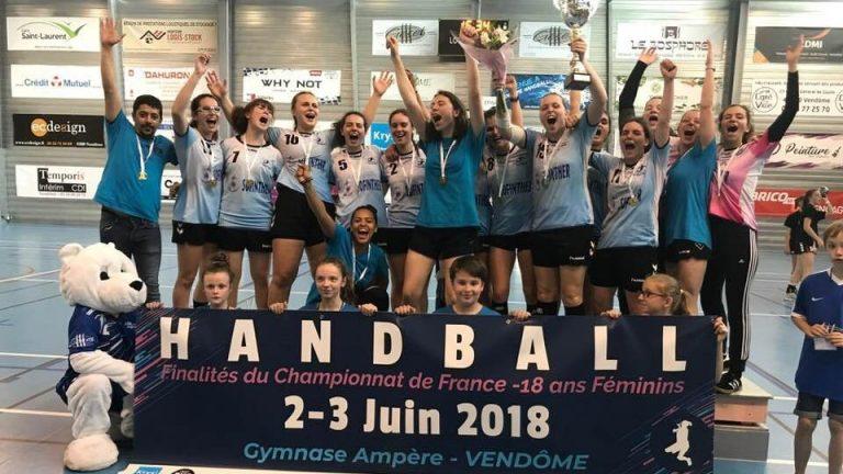 Vive nos championnes 18F - Vendôme2018